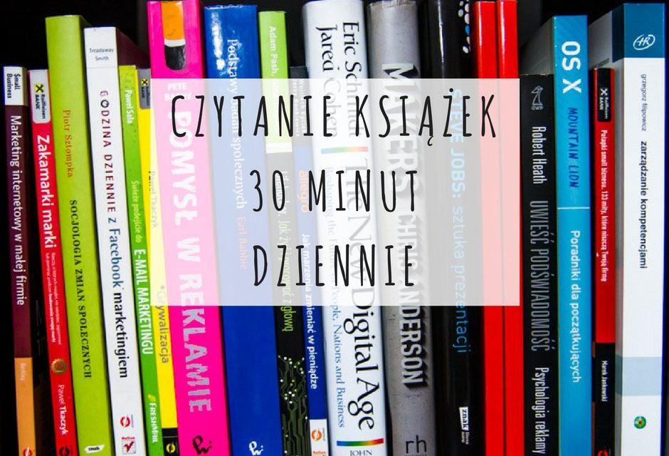 Czytanie książek – 30 minut dziennie